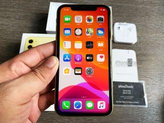 ขาย iPhone 11 สีเหลือ 64gb ศูนย์ไทย ประกันเหลือราคาถูก