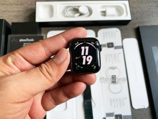 ขาย Apple Watch S4 Nike GPS 40mm สีดำ เครื่องศูนย์ มือสองราคาถูก