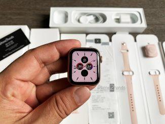 ขาย Apple Watch S5 สีชมพู 40MM GPS ประกัน มกรา 64 ปีหน้า