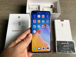 ขาย Huawei P40 สี Deep Sea Blue ศูนย์ไทย ประกันยาวๆ 2 ปี ราคาถูก