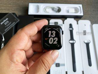 ขาย Apple Watch S5 สีดำ 44MM GPS Nike ครบกล่อง ประกัน ราคาถูก
