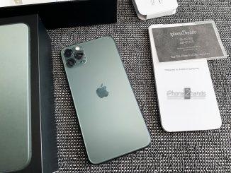 ขาย iPhone 11 Pro Max สีเขียว 64gb เครื่องศูนย์ ประกันเหลือ ราคาถูก