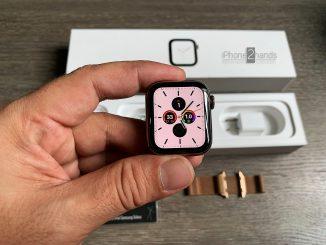 ขาย Apple Watch S4 GPS + Cel 40mm Gold สายแบบ Gold Milanese Loop