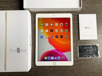 ขาย iPad Air 2 สีทอง 64gb Wifi ศูนย์ไทย ครบกล่อง มือสอง ราคาถูก