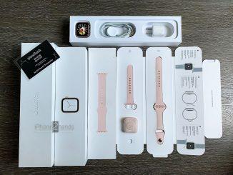 ขาย Apple Watch S4 สีชมพู GPS 40mm ศูนย์ไทย มือสอง ราคาถูก