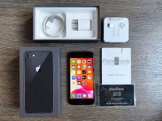 ขาย iPhone 8 สีดำ 64gb ศูนย์ไทย มือสอง ครบกล่อง ราคาถูก