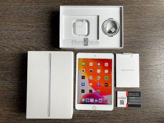 ขาย iPad Mini 5 สีเงิน 256gb Wifi ศูนย์ไทย ประกันเหลือ ราคาถูก