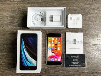 ขาย iPhone SE 2020 สีขาว 128gb ศูนย์ไทย มือ 1 ประกัน มิถุนา 64