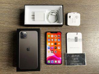ขาย iPhone 11 Pro Max สีดำ 256gb ศูนย์ไทย ประกันเหลือราคาถูก