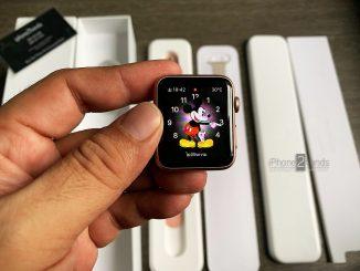 ขาย Apple Watch S1 สีชมพู 42MM เครื่องศูนย์ มือสอง ราคาถูก