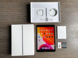 ขาย iPad Gen 7 หน้าจอ 10.2 สีดำ 32gb Wifi ประกันถึง เมษา 64