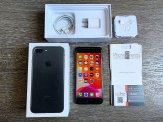 ขาย iPhone 7 Plus สีดำ 128gb ศูนย์ไทย มือสอง ราคาถูก