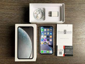 ขาย iPhone XR สีขาว 128gb เครื่องศูนย์ไทย มือสอง ราคาถูก