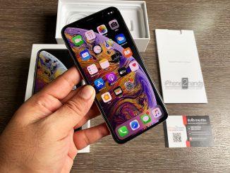 ขาย iPhone XS MAX สีเงิน 256gb ศูนย์ไทย มือสอง ราคาถูก