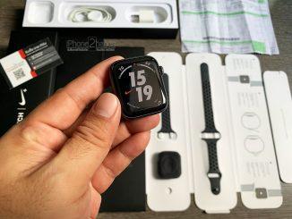 ขาย Apple Watch S4 สีดำ 44mm Cel GPS มือสอง ราคาถูก