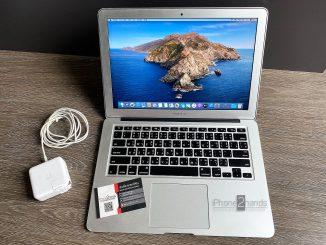 ขาย Macbook Air 13 นิ้ว ปี 2017 มือสอง ราคาถูกมาก