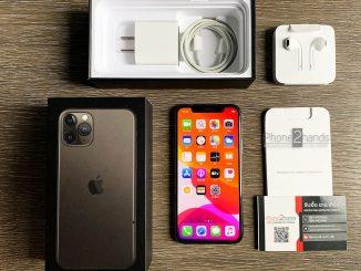 ขาย iPhone 11 Pro สีดำ 64gb ประกันศูนย์ มกรา 64 ปีหน้า ราคาถูก
