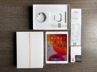 ขาย iPad Gen 7 สีทอง 32gb Wifi ประกัน สิงหาคม 64 ปีหน้า พร้อมใบเสร็จ