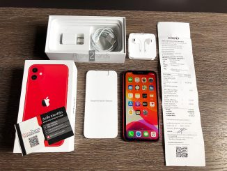 ขาย iPhone 11 สีแดง 64gb ประกัน พฤษภา 64 พร้อมใบเสร็จ