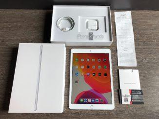 ขาย iPad Gen 7 สีเงิน 128gb Wifi ศูนย์ไทย ประกันเหลือ ราคาถูก