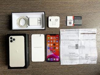 ขาย iPhone 11 Pro Max สี Silver 512gb ประกันเหลือ ราคาถูก