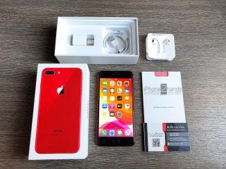 ขาย iPhone 8 Plus สีแดง 256gb ศูนย์ไทย ครบกล่อง มือสอง ราคาถูก