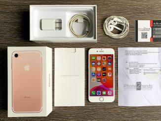 ขาย iPhone 7 สีชมพู 256gb ศูนย์ AIS มือสอง ราคาถูก