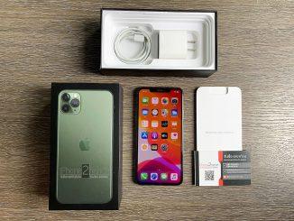 ขาย iPhone 11 Pro Max สีเขียว 64gb ศูนย์ไทย ประกันเหลือ ราคาถูก