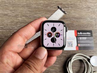 ขาย Apple Watch S4 stainless steel 44mm cellular มือสอง ราคาถูก