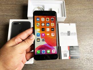 ขาย iPhone 7 Plus สีดำด้าน 32gb ศูนย์ไทย มือสอง ราคาถูก
