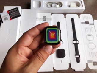 ขาย Apple Watch S4 สีดำ 40MM GPS Cellular มือสอง ราคาถูก