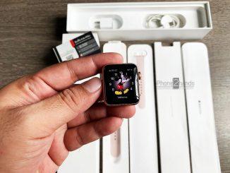 ขาย Apple Watch S3 สีชมพู 38MM GPS ศูนย์ไทย มือสอง ราคาถูก