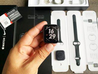ขาย Apple Watch S4 Nike 44mm สีดำ GPS ศูนย์ไทย มือสอง ราคาถูก