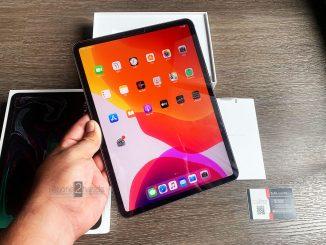 ขาย iPad Pro 11 สีดำ 64gb Cel Wifi ศูนย์ไทย มือสอง ราคาถูก