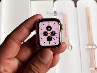 ขาย Apple Watch S4 สีชมพู 40mm GPS ศูนย์ไทย มือสอง ราคาถูก