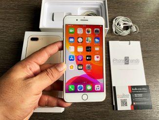 ขาย iPhone 7 Plus สีทอง 32gb ศูนย์ไทย มือสอง ราคาถูก