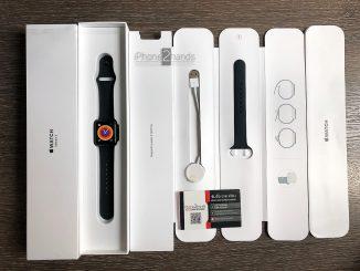 ขาย Apple Watch S3 สีดำ 38MM GPS ประกันเหลือ ราคาถูก