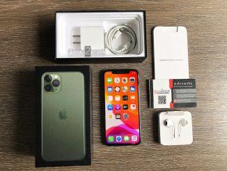 ขาย iPhone 11 Pro สีเขียว 256gb ศูนย์ไทย ประกันเหลือ ราคาถูก