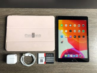 ขาย iPad Gen 7 สีดำ 32gb Wifi ประกัน 24 พฤษภา 64 ปีหน้า ราคาถูก