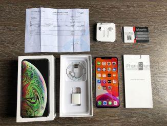 ขาย iPhone XS MAX สีดำ 64gb ศูนย์ DTAC ประกันเหลือ ราคาถูก