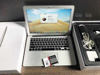 ขาย Macbook Air 13 ปี 2017 ศูนย์ไทย มือสอง ครบกล่อง ราคาถูก
