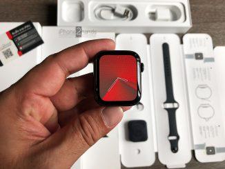 ขาย Apple Watch S5 สีดำ 44MM GPS ประกัน สิงหาคม 64