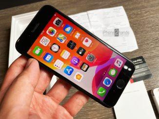 ขาย iPhone SE 2 สีดำ 128gb ประกันยาวๆ กันยายน 64 ปีหน้า