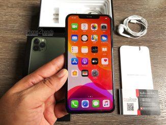 ขาย iPhone 11 Pro Max สีเขียว 64gb ศูนย์ไทย ประกัน กุมภา 64