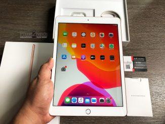 ขาย iPad Gen 7 สีทอง 128gb Wifi ศูนย์ไทย ประกัน 27 กุมภา 64 ปีหน้า