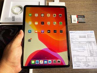 ขาย iPad Pro 11 สีดำ 64gb Wifi ประกัน กุมภาพันธ์ 64 ปีหน้า