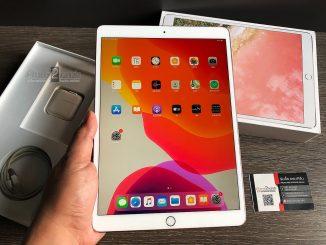 ขาย iPad Pro 10.5 สีทอง 64gb Wifi ศูนย์ไทย ครบกล่อง มือสอง ราคาถูก