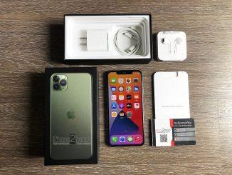 ขาย iPhone 11 Pro Max สีเขียว 64gb ประกันเหลือ ราคาถูก