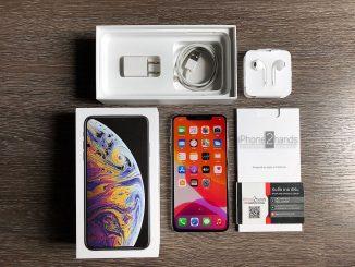 ขาย iPhone XS MAX สีขาว 64gb ศูนย์ไทย ประกันเหลือ ราคาถูก