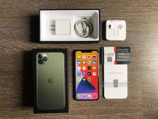 ขาย iPhone 11 Pro Max สีเขียว 64gb มือสอง ประกันเหลือ ราคาถูก